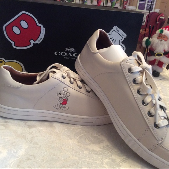 Coach Shoes   Womens Coach Mickey Mouse